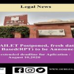 "AILET: NLU-D Postponed, fresh date of ""Centre- Based to be Announced"