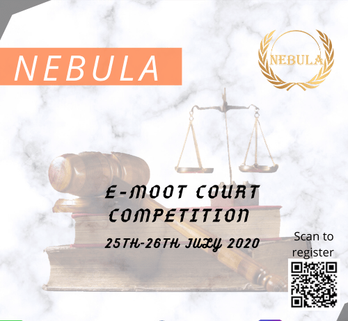 Nebula E-Moot Court Competition: Register by 15th July
