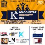 Kanooniyat Kuriosity Kuiz Series: Register by 20th Aug