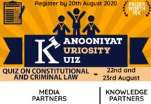 Kanooniyat Kuriosity Kuiz Series: Register by 20th Aug